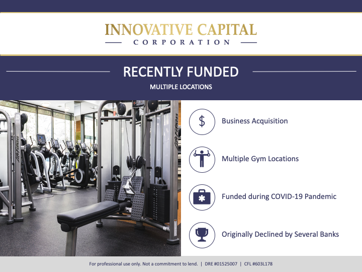 Multiple Gym Locations funded