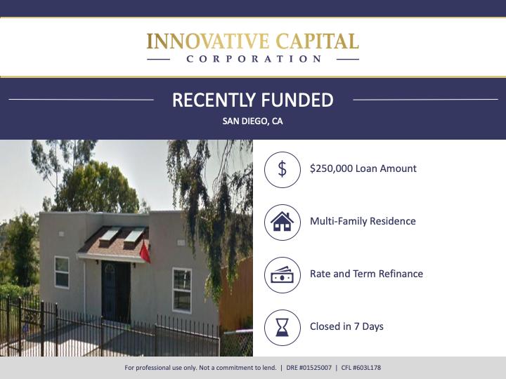 Multi-Family Residence Funded